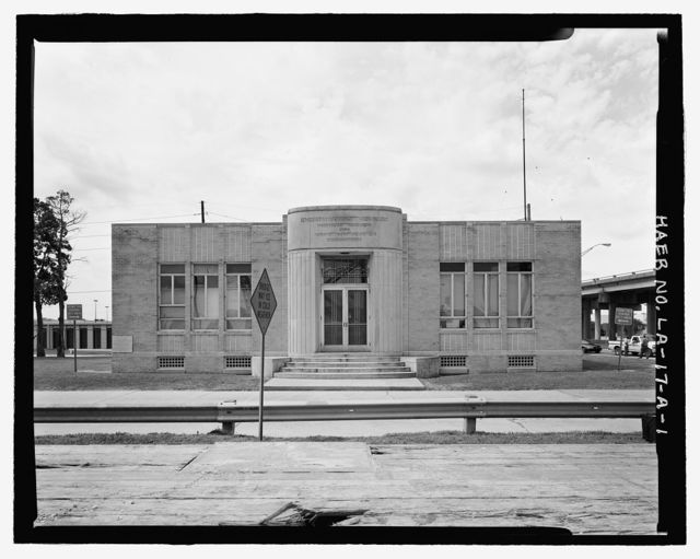 Huey P. Long Bridge, Administration Building, 5100 Jefferson Highway, Jefferson, Jefferson Parish, LA