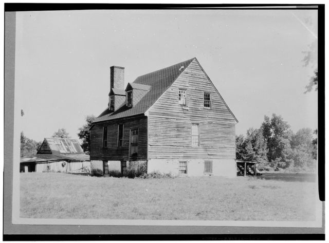 Hugh Watt House, Old Cold Harbor, Hanover County, VA