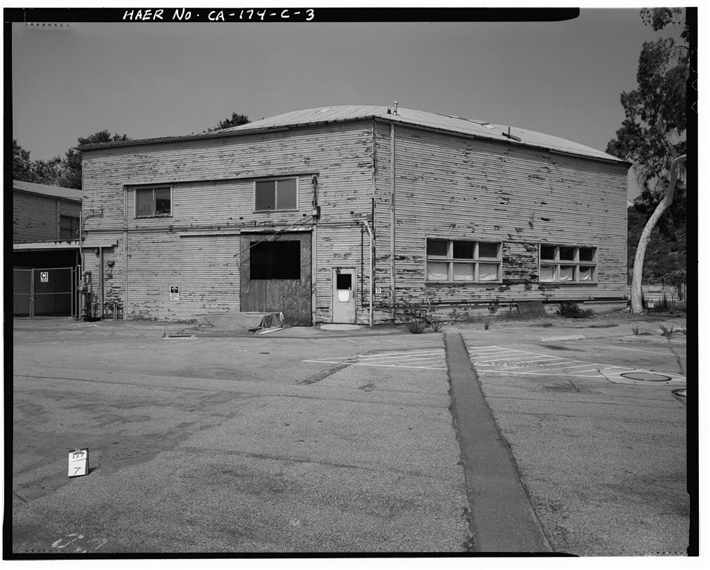 Hughes Aircraft Company, Mock-Up Building, 6775 Centinela Avenue, Los Angeles, Los Angeles County, CA