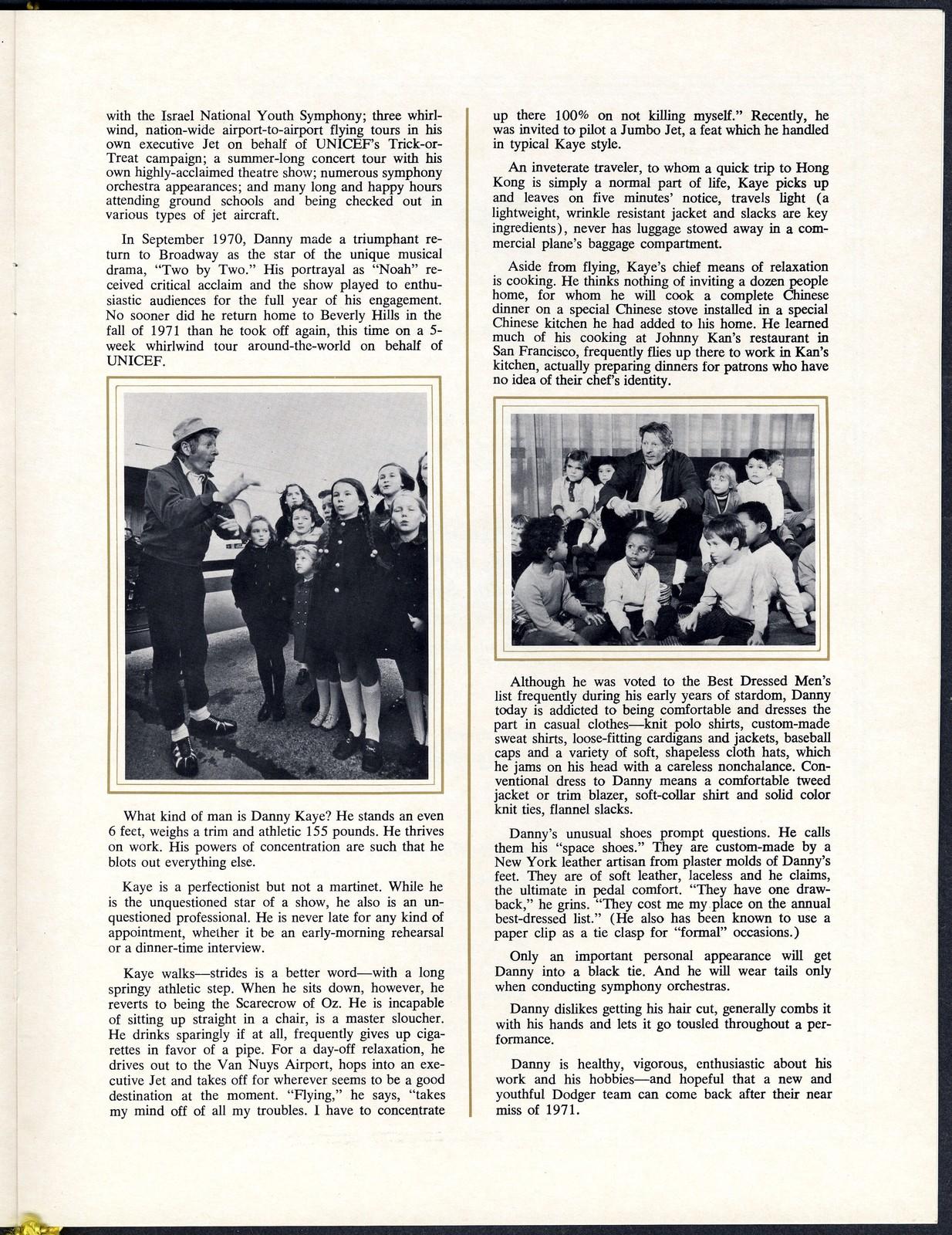 [ Humanitarian Award Presentation Banquet, April 28, 1972]