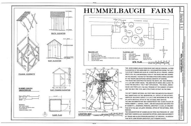 Hummelbaugh Farm, Pleasonton Avenue, Gettysburg, Adams County, PA