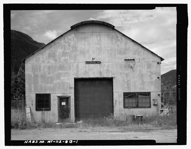 Hungry Horse Village, Maintenance Shop, Approximately 1 mile south of Highway 2 East & 1/4 mile east of Colorado Boulevard, Hungry Horse, Flathead County, MT