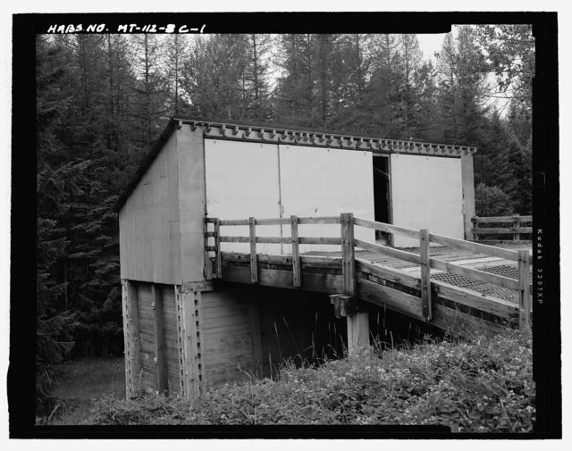 Hungry Horse Village, Timber Sand Bunker, Approximately 1 mile south of Highway 2 East & 1/4 mile east of Colorado Boulevard, Hungry Horse, Flathead County, MT