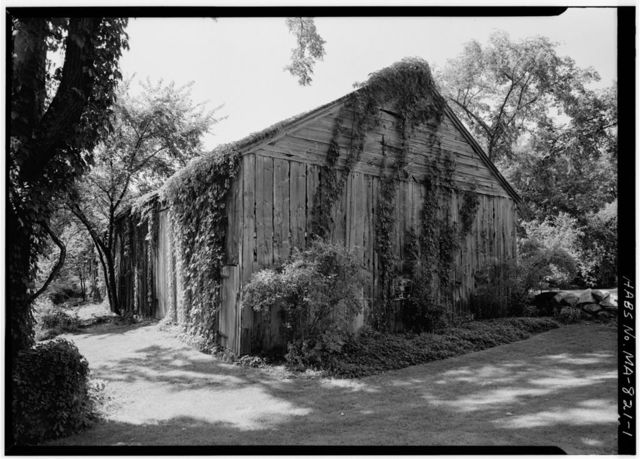 Hunt-Hosmer Barn, Lowell Road, Concord, Middlesex County, MA