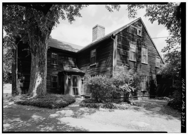 Hunt-Hosmer House, Lowell Road, Concord, Middlesex County, MA