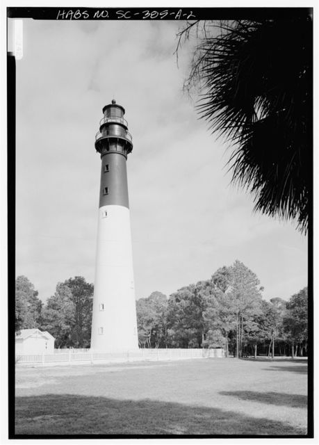 Hunting Island Lighthouse, Lighthouse, Hunting Island State Park, U.S. Route 21, 16 miles East of Beaufort, Beaufort, Beaufort County, SC