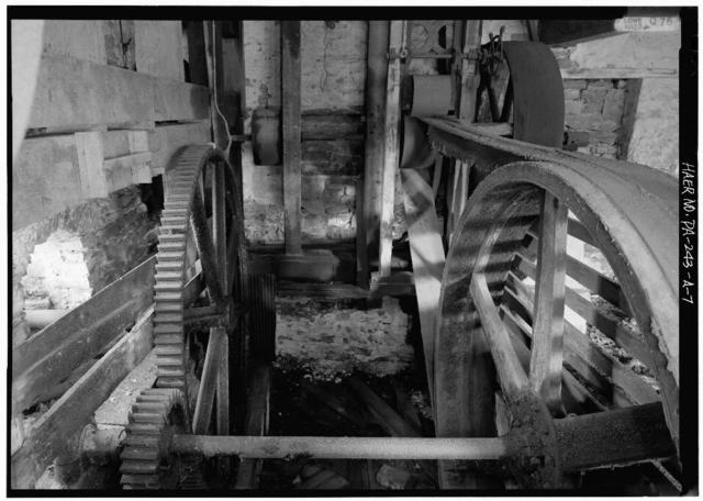 Huntingdon Furnace, Grist Mill, 2 miles northwest of Colerain Mansion, Franklinville, Huntingdon County, PA