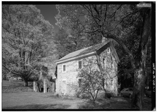 Huntingdon Furnace, Office, 2 miles northwest of Colerain Mansion, Franklinville, Huntingdon County, PA