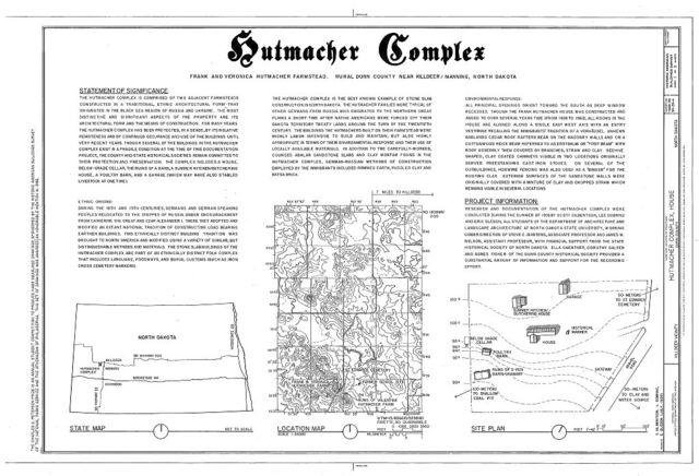 Hutmacher Complex, House, Killdeer, Dunn County, ND