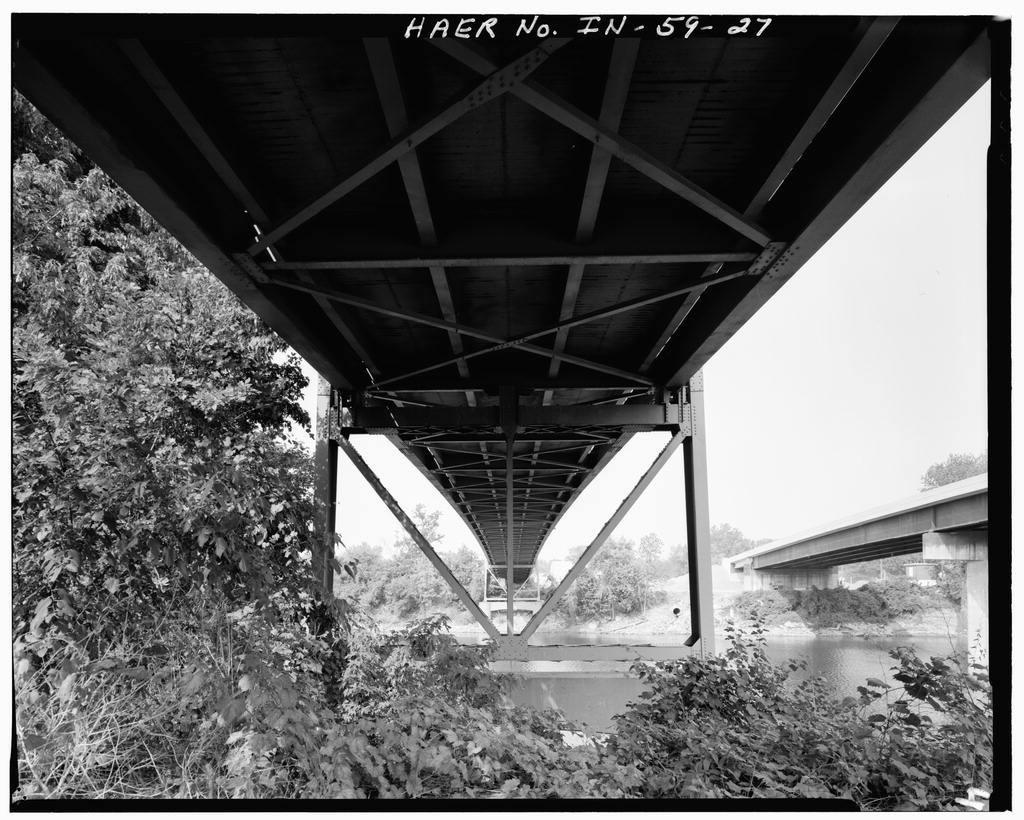 Hutsonville Bridge, Spanning Wabash River on State Route 154, Graysville, Sullivan County, IN