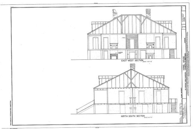 Hymel House, Southwest of River Road on Crescent Farm Plantation, Lutcher, St. James Parish, LA