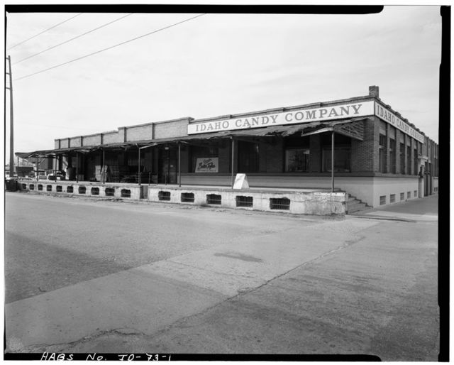 Idaho Candy Company Warehouse, 500 South Eighth Street, Boise, Ada County, ID