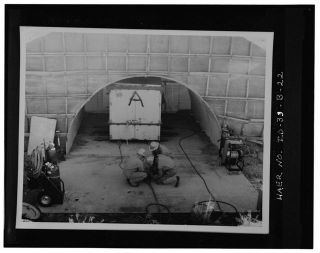 Idaho National Engineering Laboratory, Advanced Reentry Vehicle Fusing System, Scoville, Butte County, ID