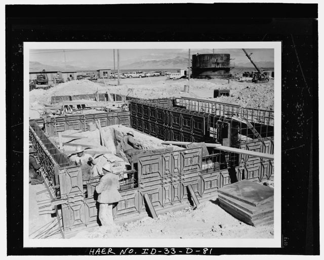 Idaho National Engineering Laboratory, Army Reactors Experimental Area, Scoville, Butte County, ID
