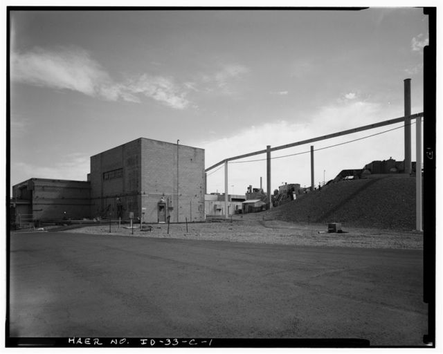 Idaho National Engineering Laboratory, Old Waste Calcining Facility, Scoville, Butte County, ID