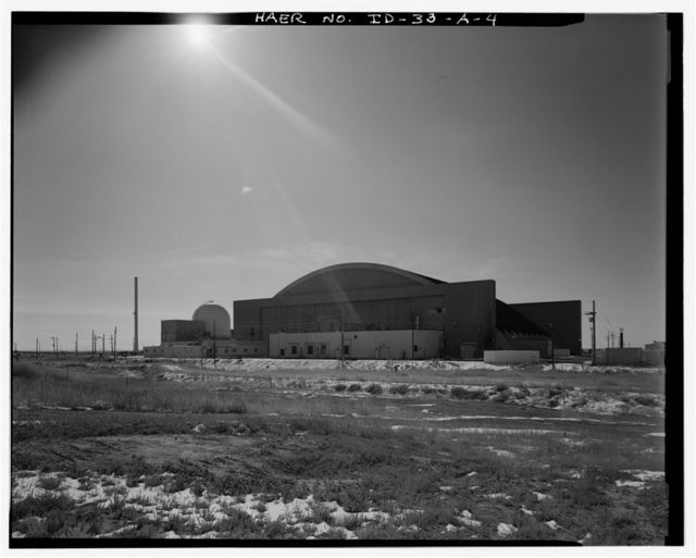 Idaho National Engineering Laboratory, Test Area North, Hangar No. 629, Scoville, Butte County, ID