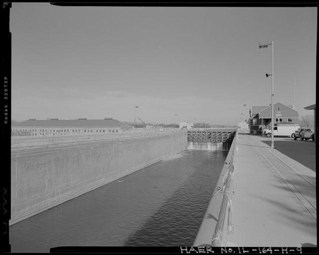 Illinois Waterway, Lockport Lock, Dam and Power House, 2502 Channel Drive, Lockport, Will County, IL