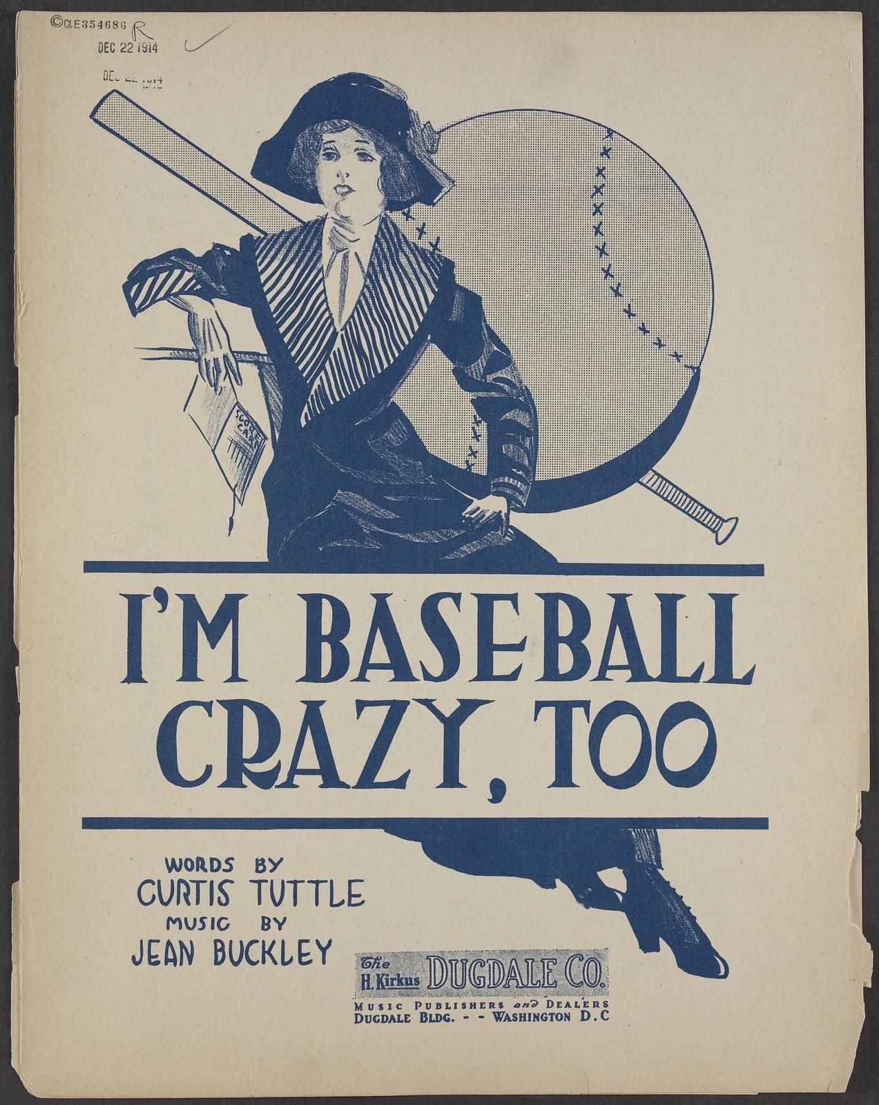 I'm baseball crazy, too