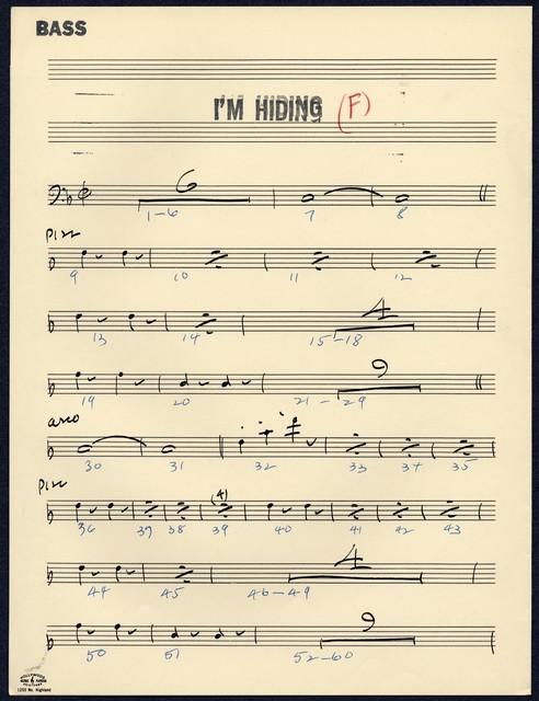I'm Hiding [F]
