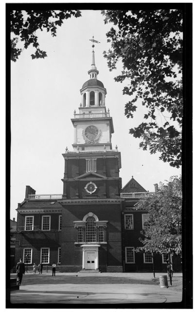 Independence Hall Complex, Independence Hall, 500 Chestnut Street, Philadelphia, Philadelphia County, PA