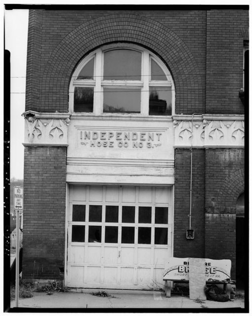 Independent Hose Company No. 3, Nineteenth & Belmont Streets, Bellaire, Belmont County, OH