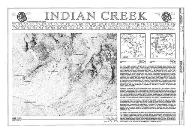 Indian Creek, Indian Creek, Crownpoint, McKinley County, NM