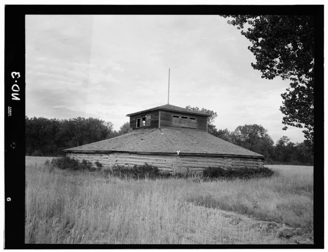 Indian Dance Lodge, White Shield, McLean County, ND