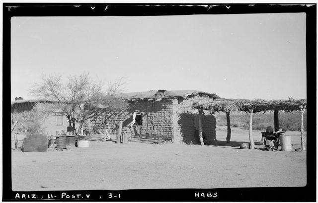 Indian Farmhouse Group, Gila River Vicinity, Poston, La Paz County, AZ