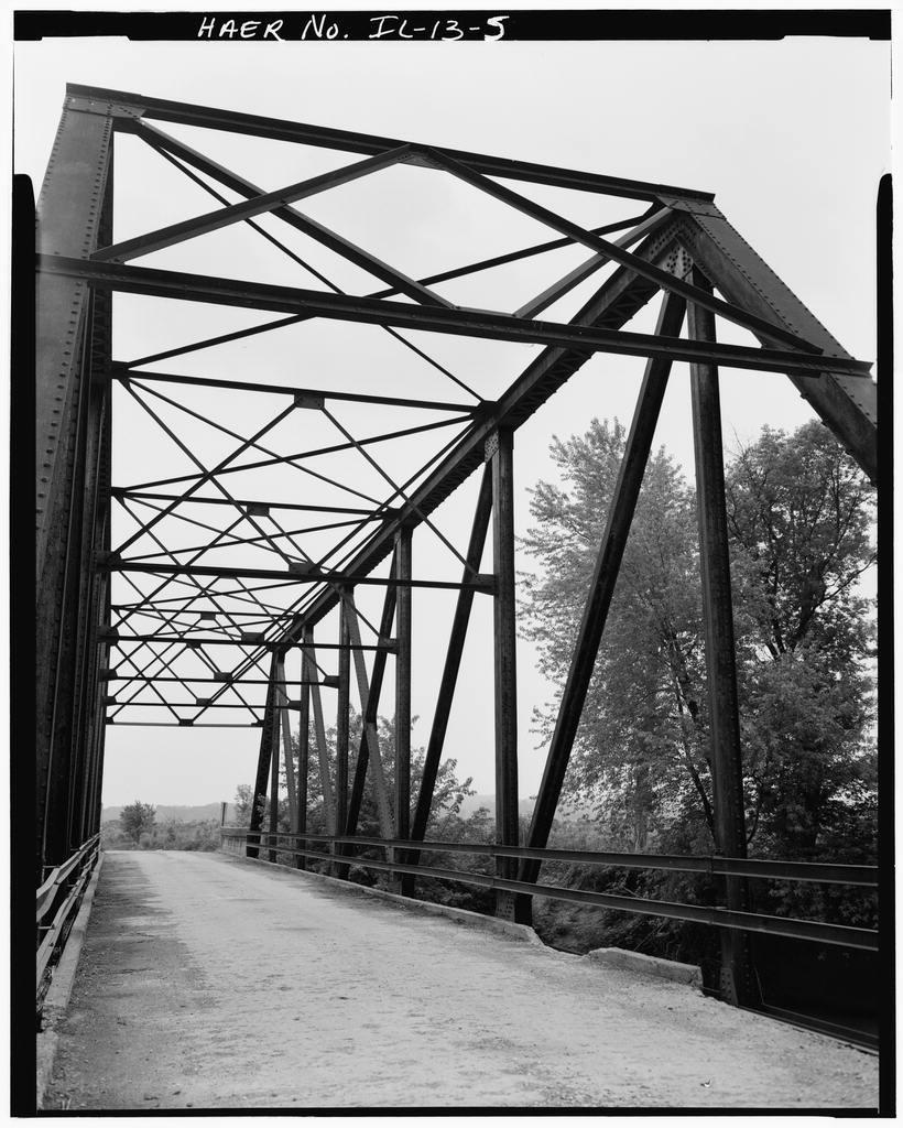 Indian Ford Bridge, London Mills, Fulton County, IL