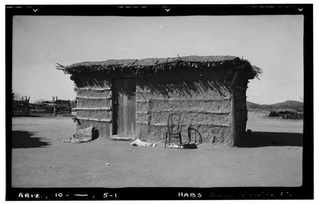 Indian Mission Village of Bac, House No. 4, Tucson, Pima County, AZ