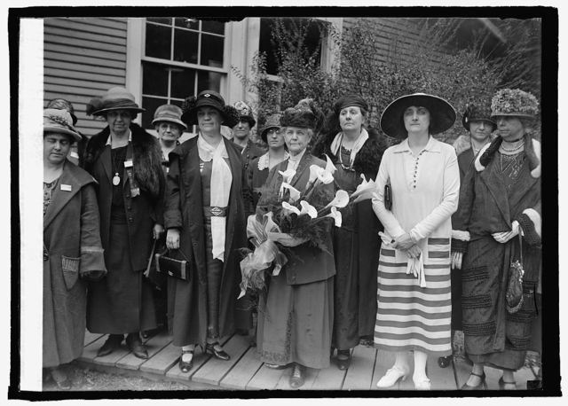 International Council of Women at Wilson's Tomb, 5/14/25