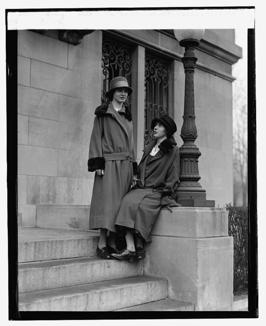 Irene and Antoinette Daeschner, 1/26/25