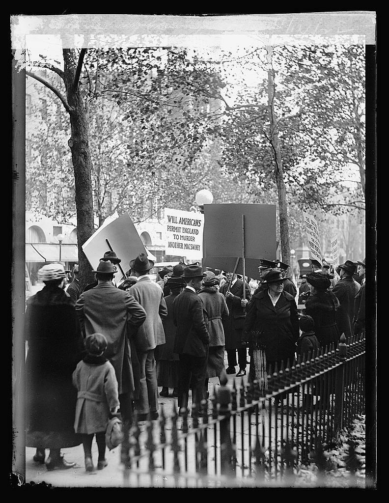 Irish pickets, 11/14/22