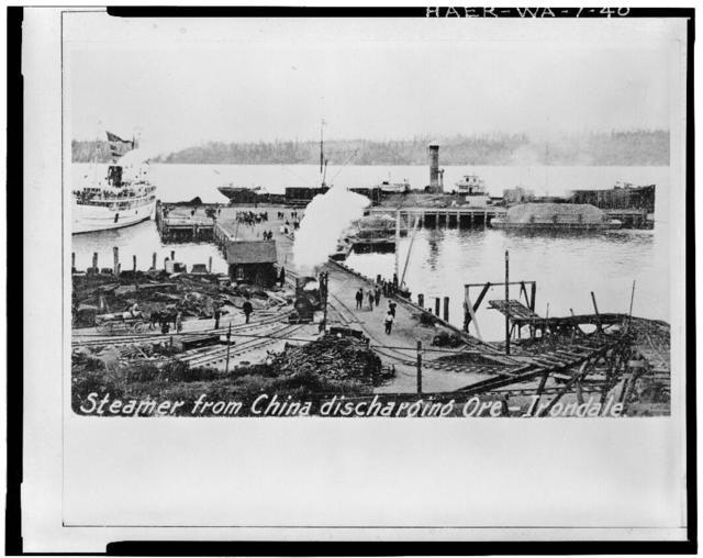 Irondale Iron & Steel Plant, Port Townsend, Jefferson County, WA