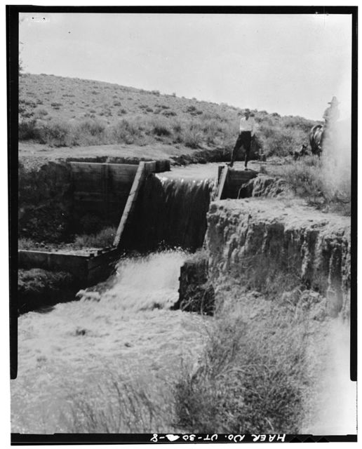Irrigation Canals in the Uinta Basin, Duchesne, Duchesne County, UT