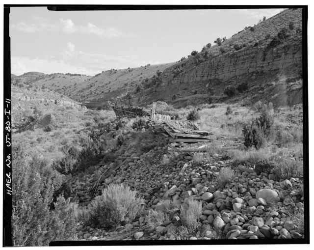 Irrigation Canals in the Uinta Basin, Knight Ditch, Duchesne, Duchesne County, UT