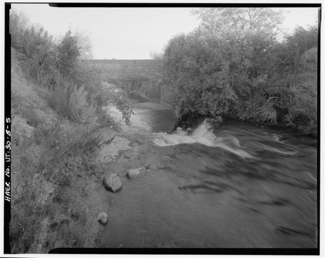 Irrigation Canals in the Uinta Basin, Ouray Park Canal, Duchesne, Duchesne County, UT