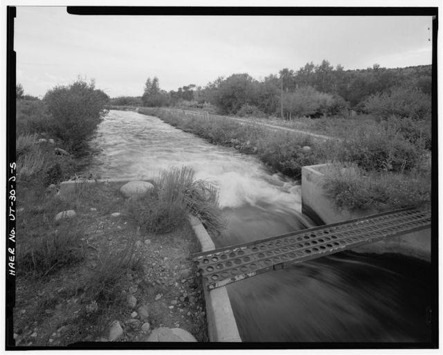 Irrigation Canals in the Uinta Basin, U.S. Lake Fork Canal, Duchesne, Duchesne County, UT