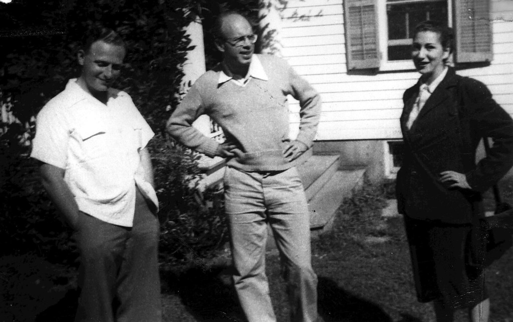 Irving Fine, Harold Shapero, Esther Shapero, 1948