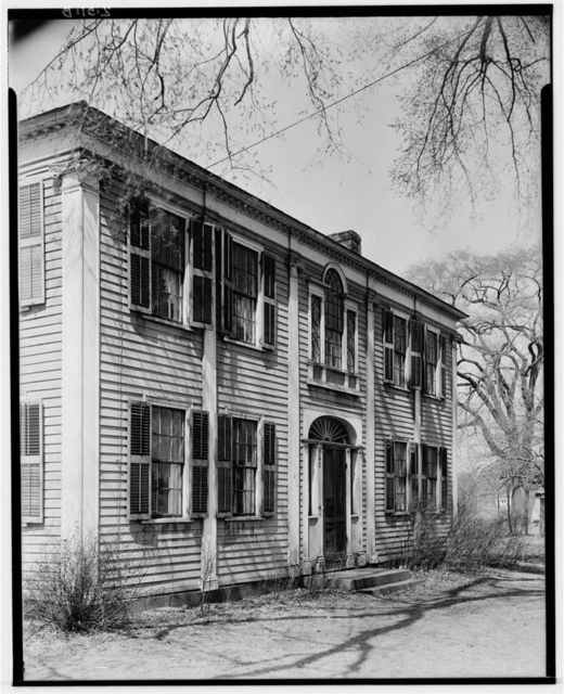 Isaac Cooley House, 740 Elm Street, Agawam, Hampden County, MA