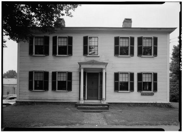 Isaac Damons House, 46 Bridge Street, Northampton, Hampshire County, MA