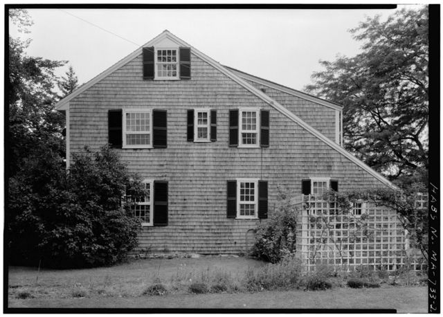 Isaac Dillingham House, State Route 6A, Brewster, Barnstable County, MA