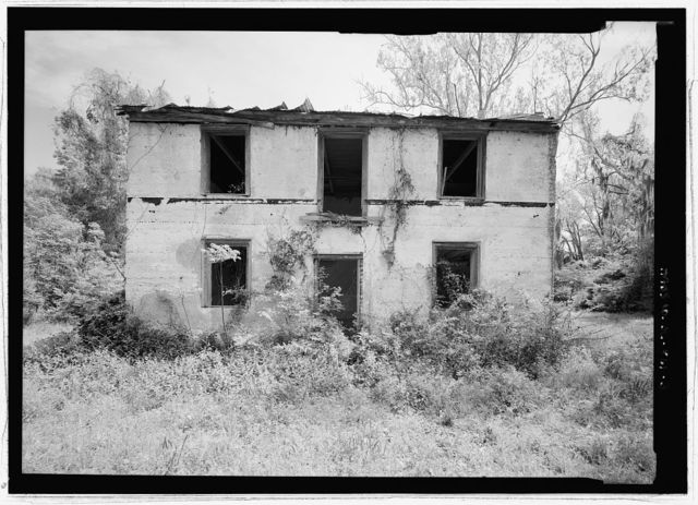 Isaac Fripp House, Off of County Road, Frogmore, Beaufort County, SC