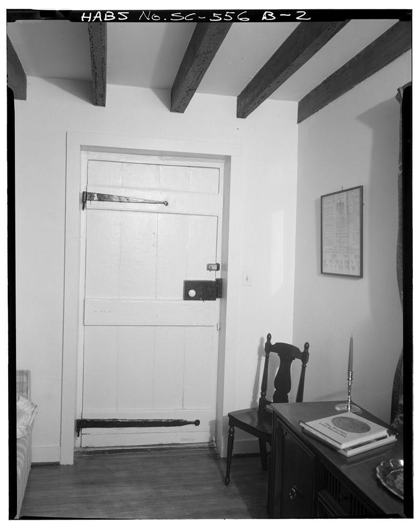 Isaac Mazyck House, North Dependency, 86 Church Street, Charleston, Charleston County, SC