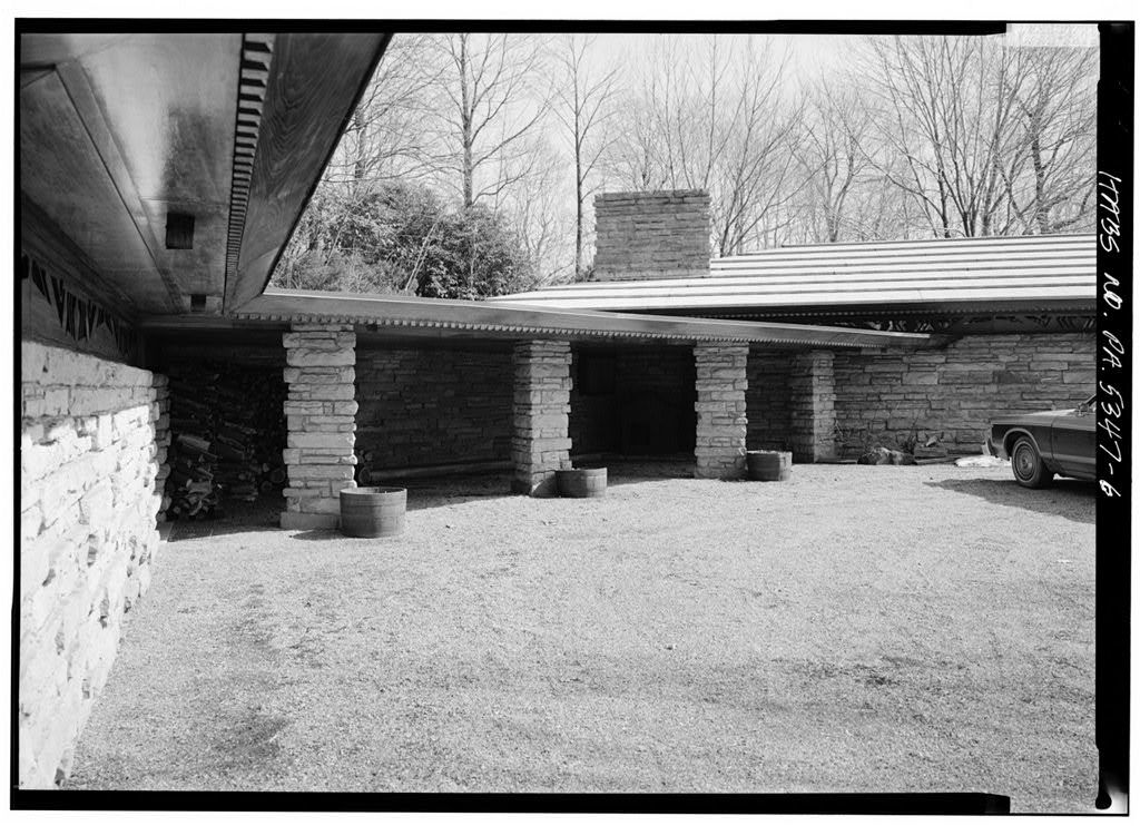 Isaac N. Hagan House, Kentuck Knob, U.S. Route 40 vicinity (Stewart Township), Chalkhill, Fayette County, PA