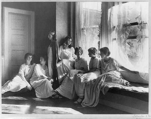 Isadora Duncan's dancers
