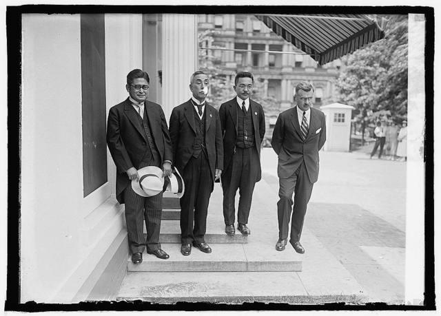 Isahuro Yoshida, Rev. Takeshi Ikai, Koyabe and J. Butler Wright, 7/16/24