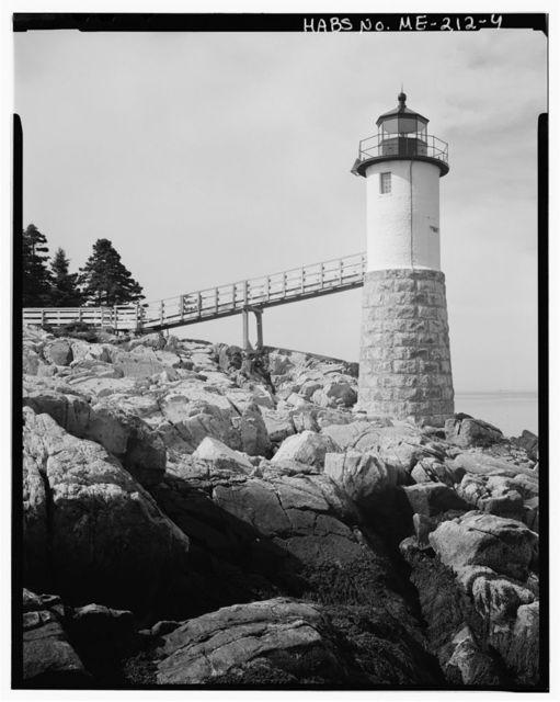 Isle Au Haut Light Station, Robinson's Point, Isle Au Haut, Knox County, ME