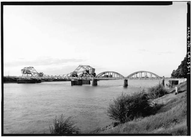 Isleton Bridge, Spanning Sacramento River at Post Mile 5.95 of California State Highway 160, Isleton, Sacramento County, CA