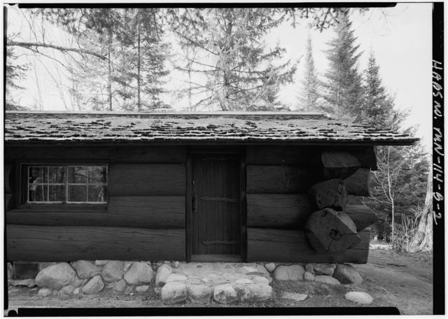 Itasca State Park, Old Timer's Cabin, Lake Itasca, Clearwater County, MN